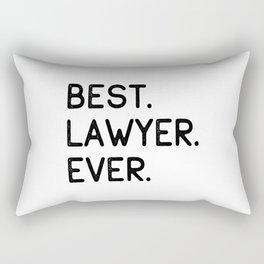 Best Lawyer Ever Advocate Gift Idea Rectangular Pillow