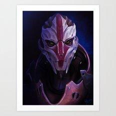 Mass Effect: Nyreen Kandros Art Print