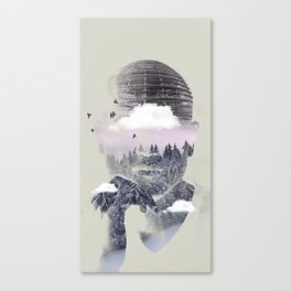 Contemplating Dome Canvas Print