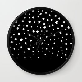 made of stars Wall Clock