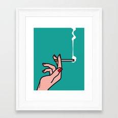 Pop Icon - Madmen 1 Framed Art Print