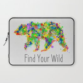 Find Your Wild Laptop Sleeve