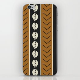 Let's play mudcloth iPhone Skin