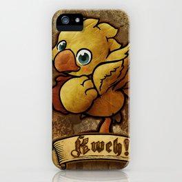 Chocobo Kwe ! iPhone Case