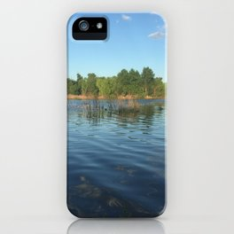 Along the Banks iPhone Case