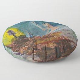 Nature Bath Floor Pillow