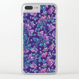 sophia roses by the sea Clear iPhone Case