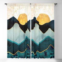 Glacial Hills Blackout Curtain