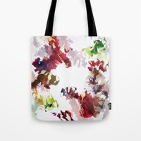 splatter Tote Bags featuring Splatter by Leechi