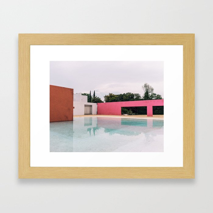Barragan Pink Framed Art Print