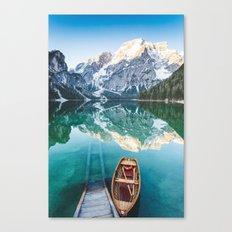 Pragser Wildsee Canvas Print