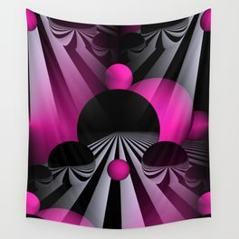 3D - abstraction -114- Wall Tapestry