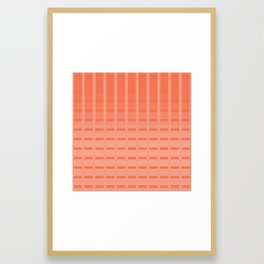 Orangesh Framed Art Print