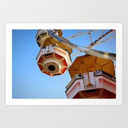 state fair ferris wheel Art Print