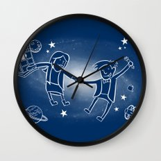 Adventures in Space/Time Wall Clock