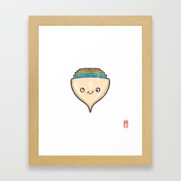 Koma [Special Lucky Toy Box] Framed Art Print