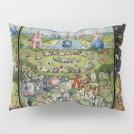 The Garden of Earthly Delights Pillow Sham