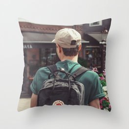 lost boy Throw Pillow