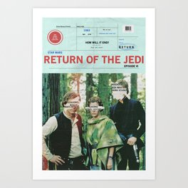 Hope Empire Return Art Print