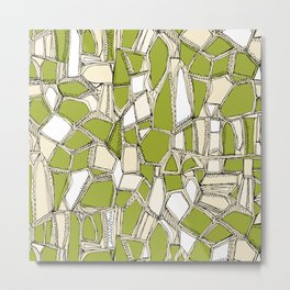 BROKEN POP citron Metal Print
