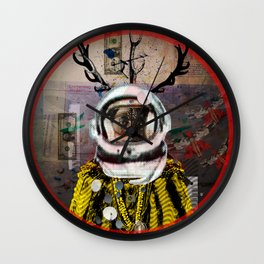 Deadly Kiss Wall Clock