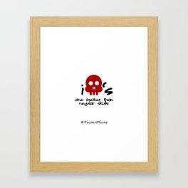 iSkulls Framed Art Print