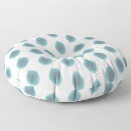 ► Peacock pattern | minimalism | Pfau Muster Floor Pillow