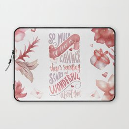 SO MUCH OF LOVE IS CHANCE Laptop Sleeve