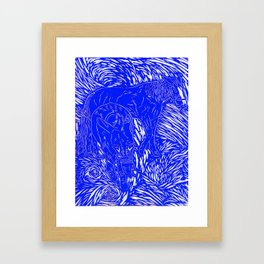 Abstract Buford Charging Framed Art Print