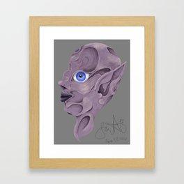 The Indents Framed Art Print