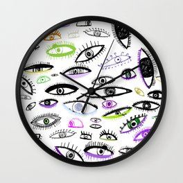 city wakin' Wall Clock