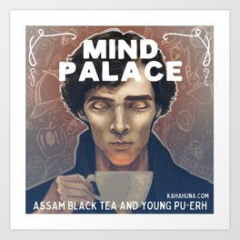 Mind Palace Tea Art Print