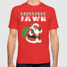 Christmas Jawn Mens Fitted Tee SMALL Red