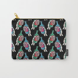 skull galaxy pattern Carry-All Pouch
