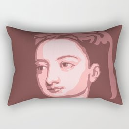 Lady Mary Wortley Montagu Rectangular Pillow