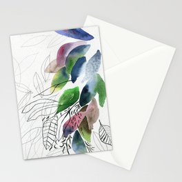 Leaves gone Stationery Cards