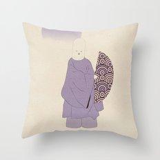 k a b u k i p o e t Throw Pillow