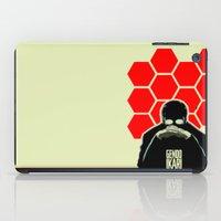 evangelion iPad Cases featuring Gendo Ikari from Evangelion. Super Dad. by Barrett Biggers