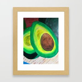 Avocado Framed Art Print