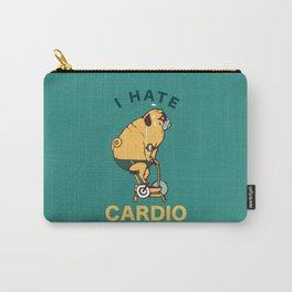 I Hate Cardio Carry-All Pouch