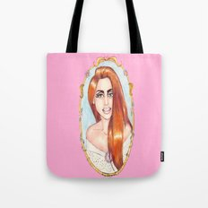 Reflecting a Smile Tote Bag