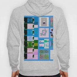 CC No.5 Beauty Collage Blue Hoody