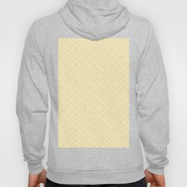 Summer in Paris - Sunny Yellow Geometric Minimalism Hoody