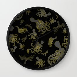 Baby Octopi Wall Clock
