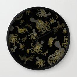 Baby Octopi Wall Clock