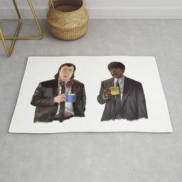 Pulp Fiction - Jimmy's Coffee Rug
