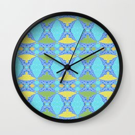 Vintage Fractal Timeloop Wall Clock