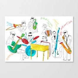 NOLA Jazz Fest 2011 Canvas Print