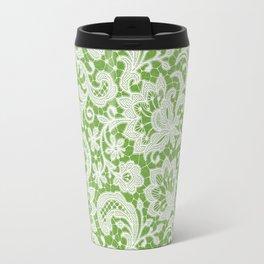 Spring Lace Travel Mug