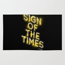 Sign Of The Times Rug